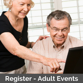 Parkland Community Library Register for Adult Events